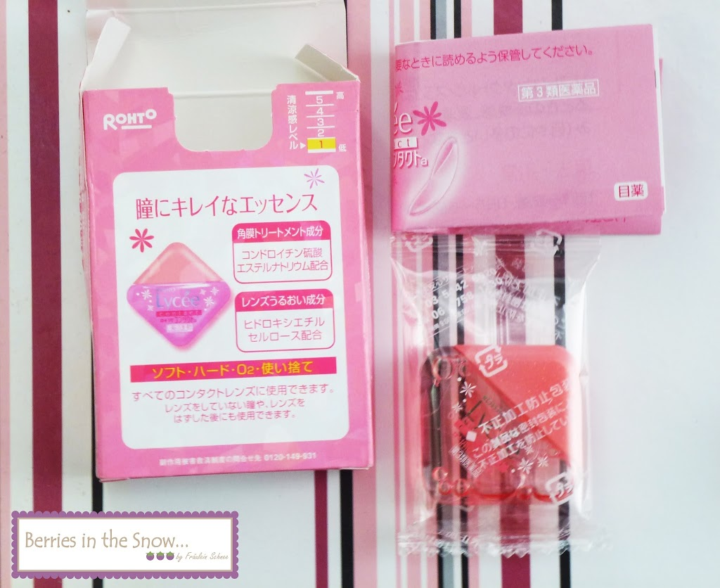 The pink package keeps its promise of being cute and girly. The eyedrop container has a rectangular shape and is made of plastic.
