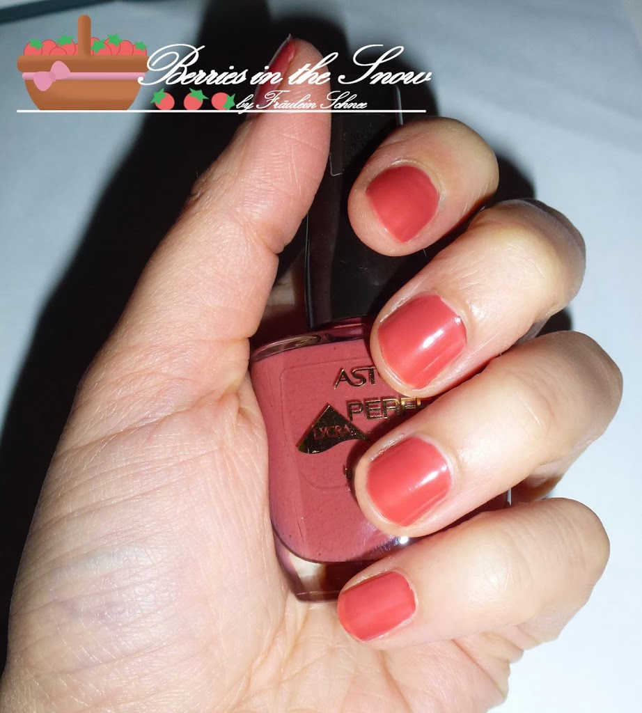 Astor Soft Sensation Lipcolor Butter Crayon and Perfect Stay Nail Polish