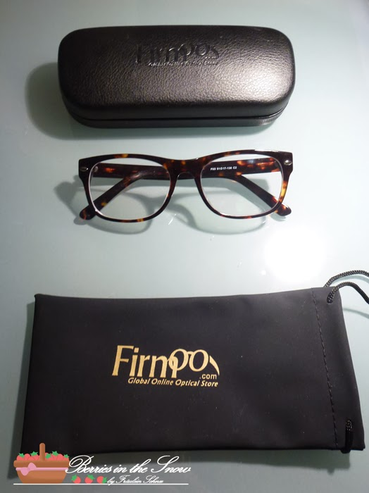 My new glasses from Firmoo
