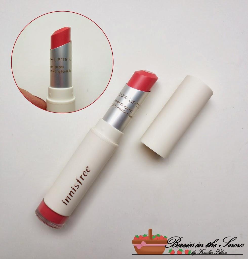 Innisfree Color Glow Lipstick Romantic Autumn Rose