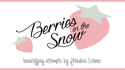 about berries in the snow