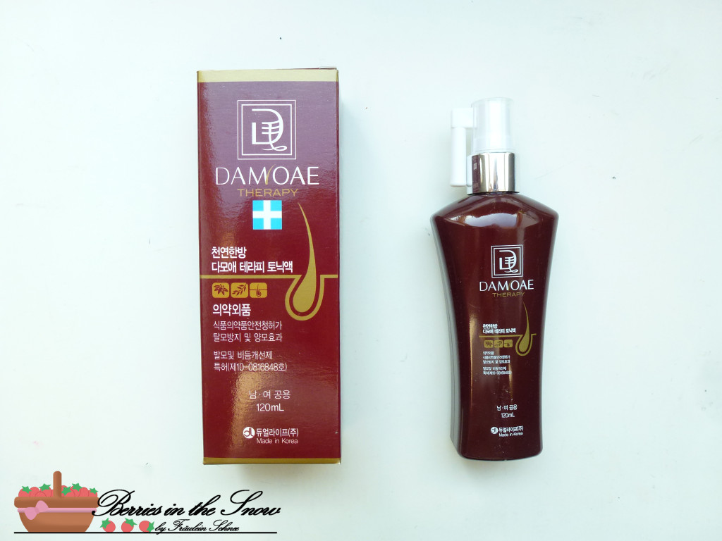Damoae Therapy Shampoo and Tonic