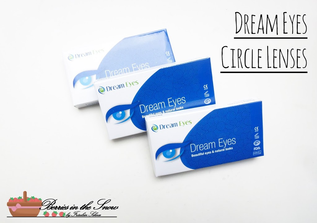Dream Eye Hazel Iris Circle Contact Lenses