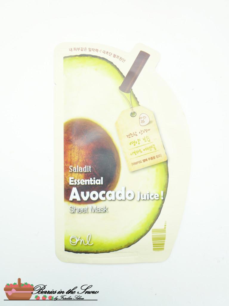 ONL Saladit Essential Juice Sheet Masks