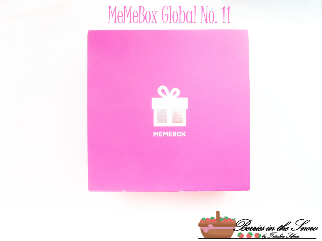 MeMeBox GetItBeautyBox Global No. 11