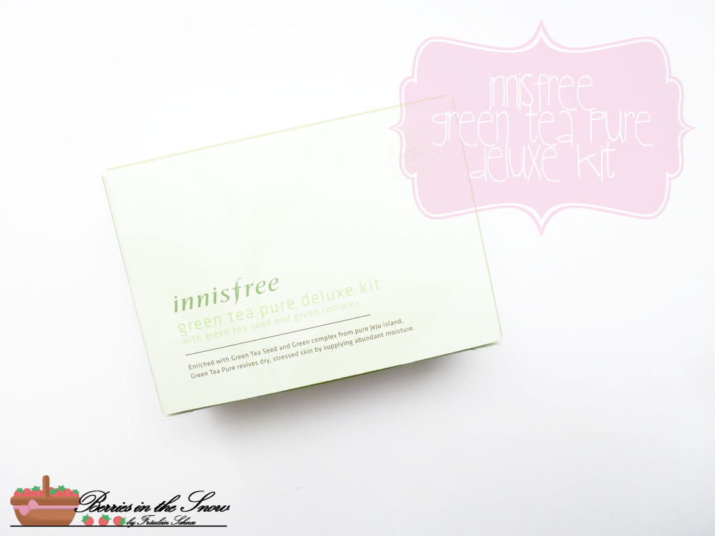 Innisfree Green Tea Pure Deluxe Kit 1