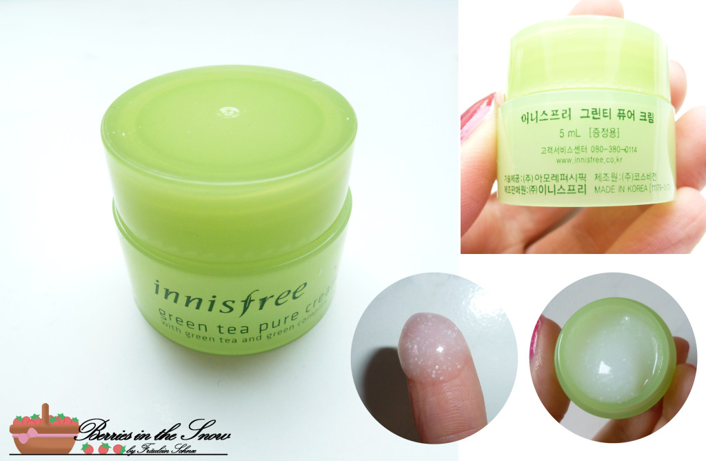 Innisfree Green Tea Pure Deluxe Kit 6