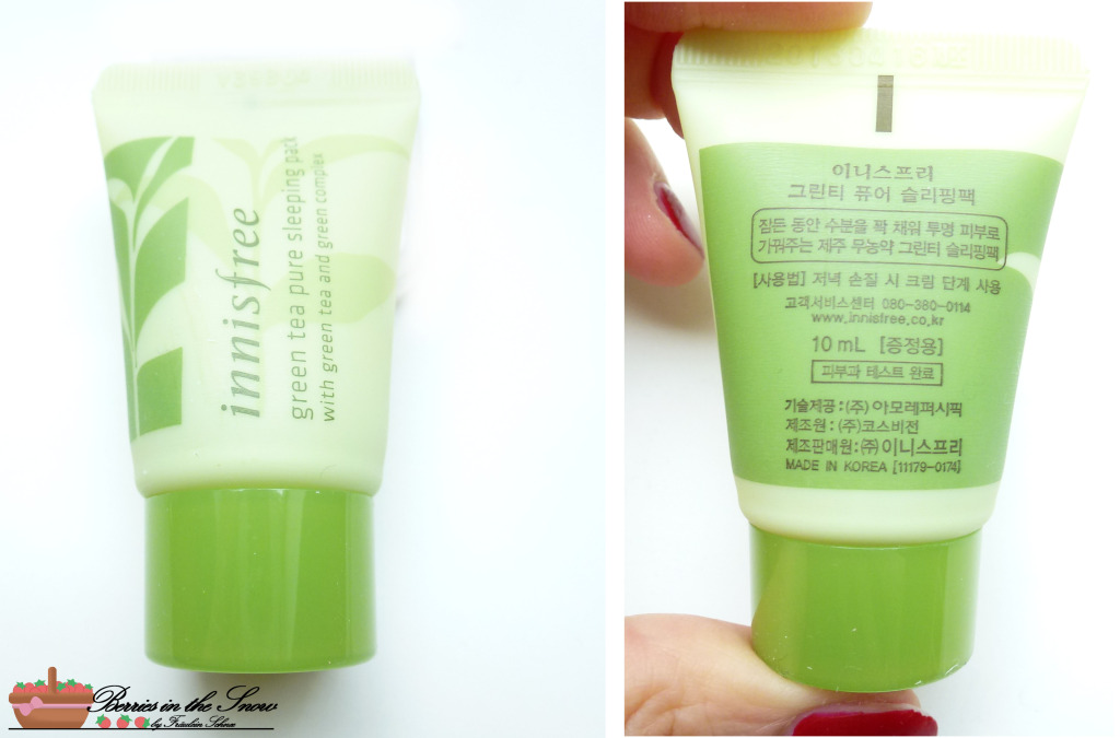 Innisfree Green Tea Pure Deluxe Kit 7