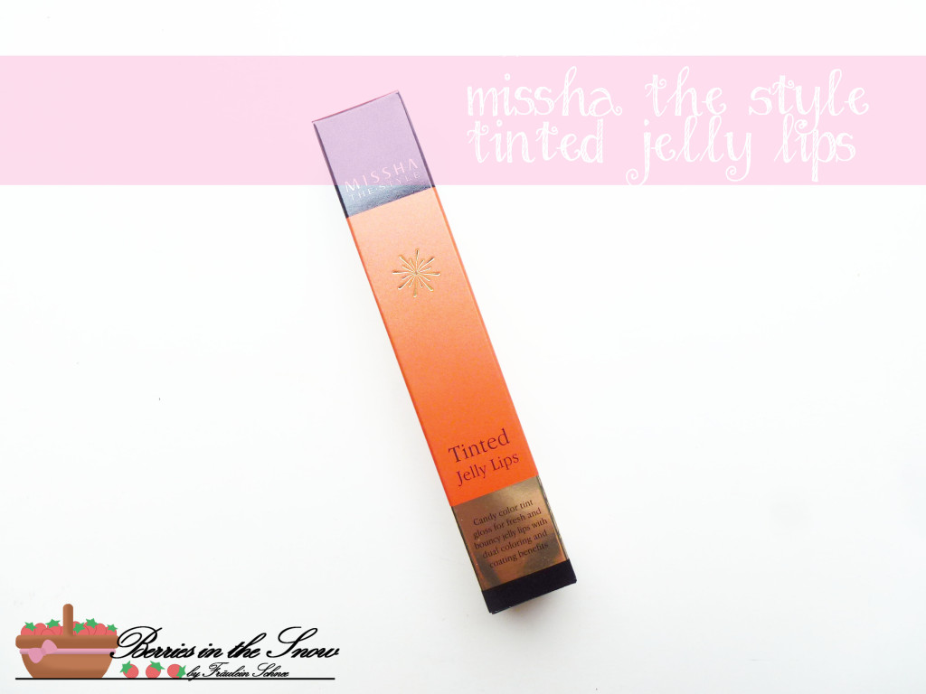 Missha The Style Tinted Jelly Lips
