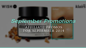 Wishtrend September Promotions and Special Gift