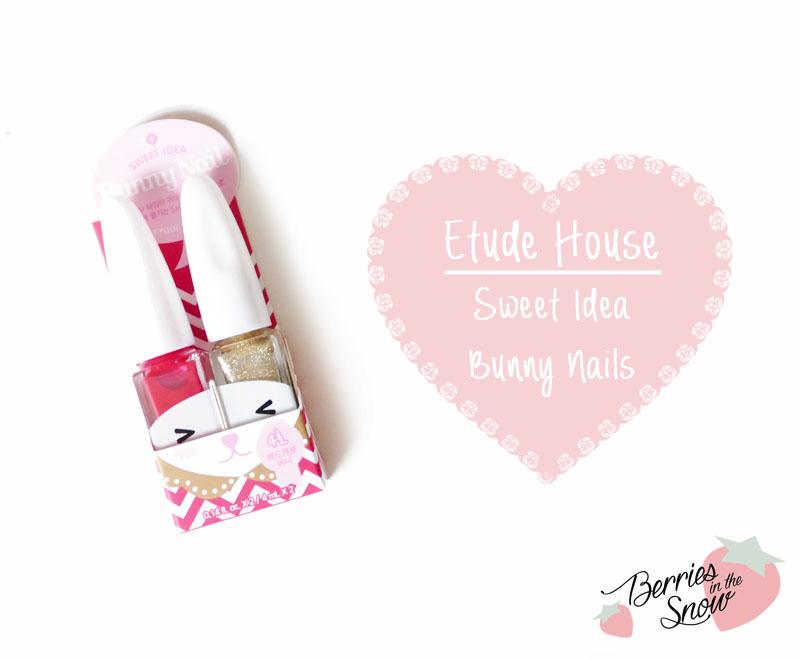 Etude House Sweet Idea Bunny Nails