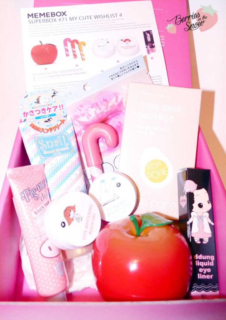 Unboxing: MeMeBox My Cute Wishlist No. 4