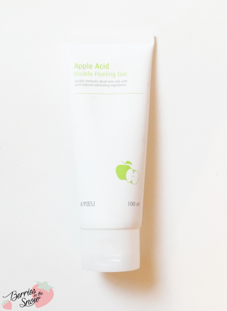 A'Pieu Apple Acid Visible Peeling Gel