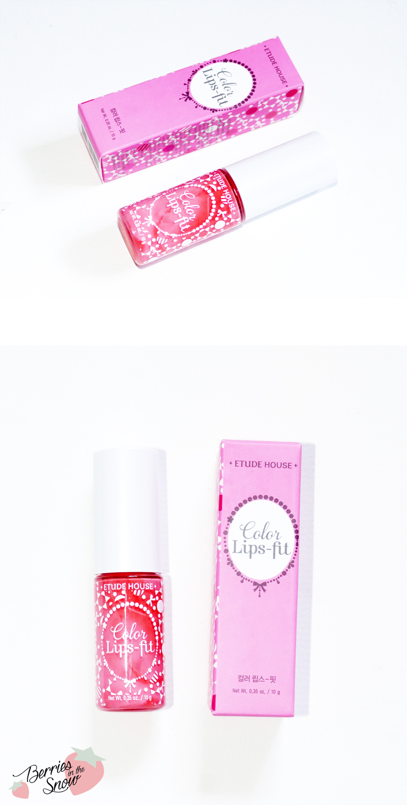 Review: Etude House Color Lips-fit | Berries in the Snow