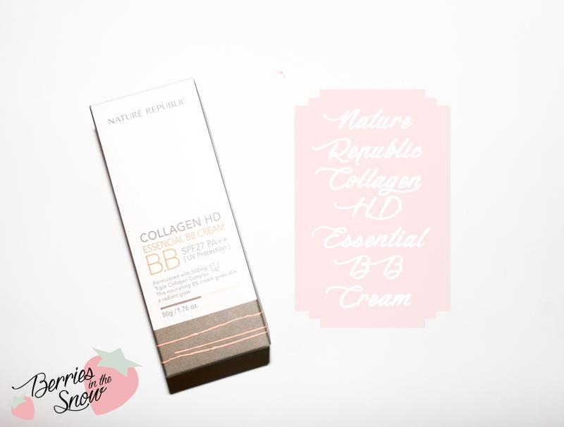 Nature Republic Collagen HD Essencial BB Cream