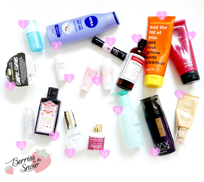 November and December Empties 2014