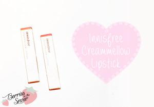 Innisfree_CreammellowLipstick_1