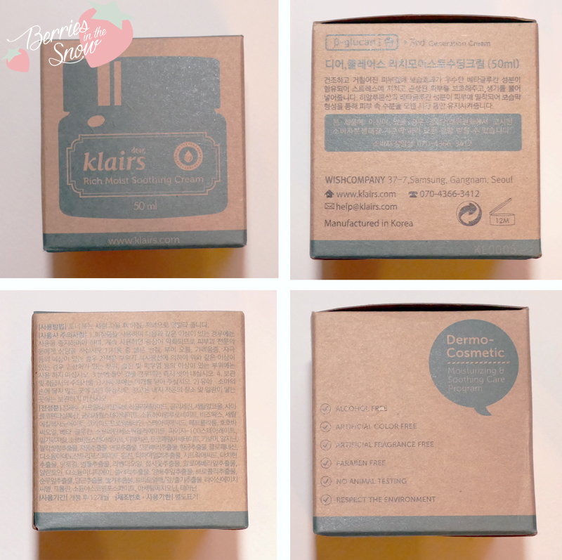 Klairs Moisture Rescue Kit Part 2