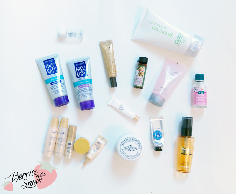 January and February Empties 2015