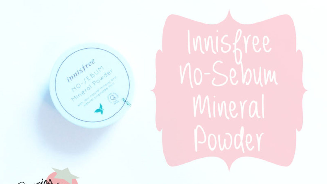 Review: Innisfree No-Sebum Mineral Powder | Berries in the Snow