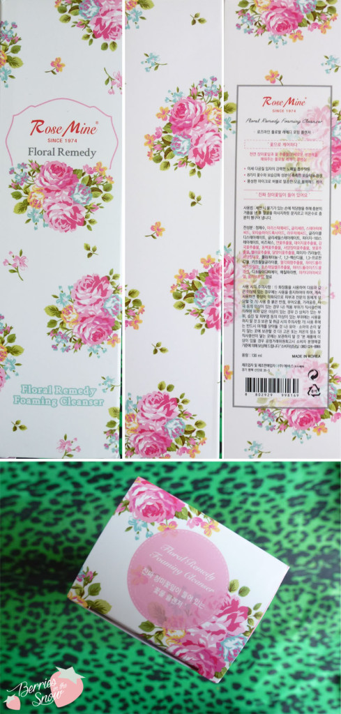 Rosemine Floral Remedy Foaming Cleanser