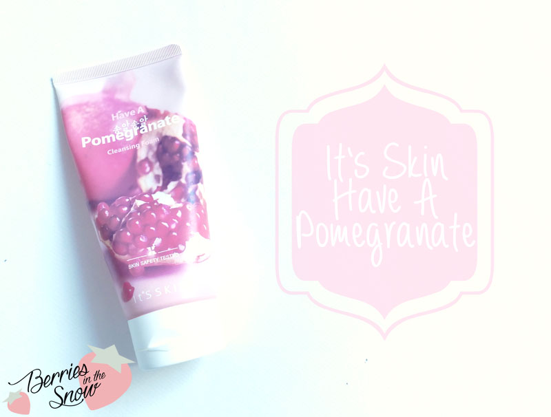It's Skin Have A Pomegranate Cleansing Foam
