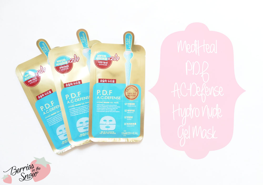 MediHeal PDF A.C-Defense Hydro Nude Gel Mask