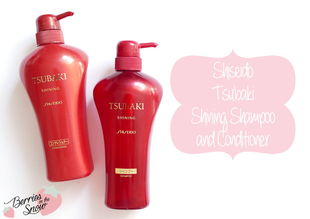 Review Shiseido Tsubaki Shampoo And Conditioner Berries