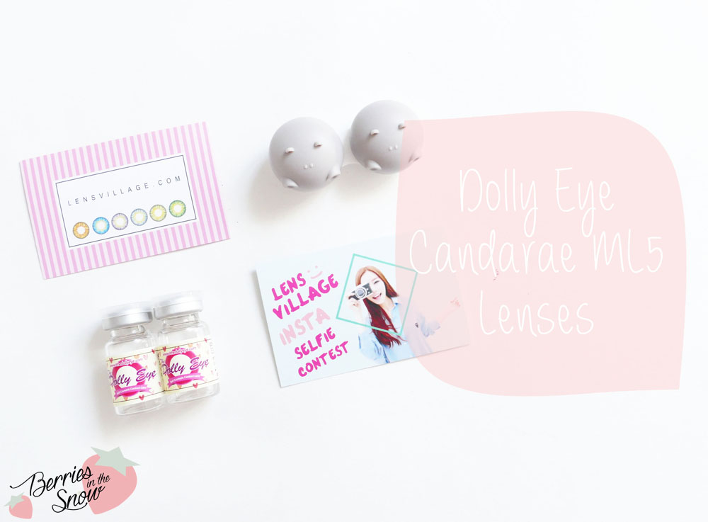 The Dolly Eye Candarae ML5 Lenses