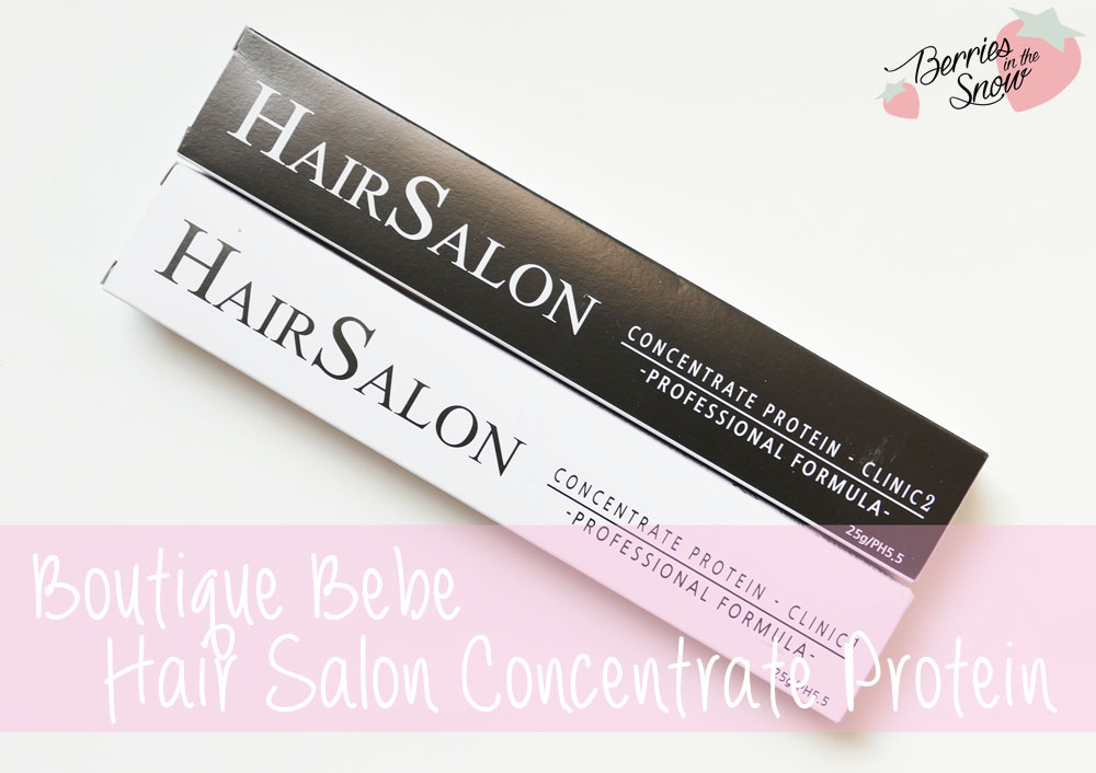 Boutique Bebe Hair Salon Concentrate Protein