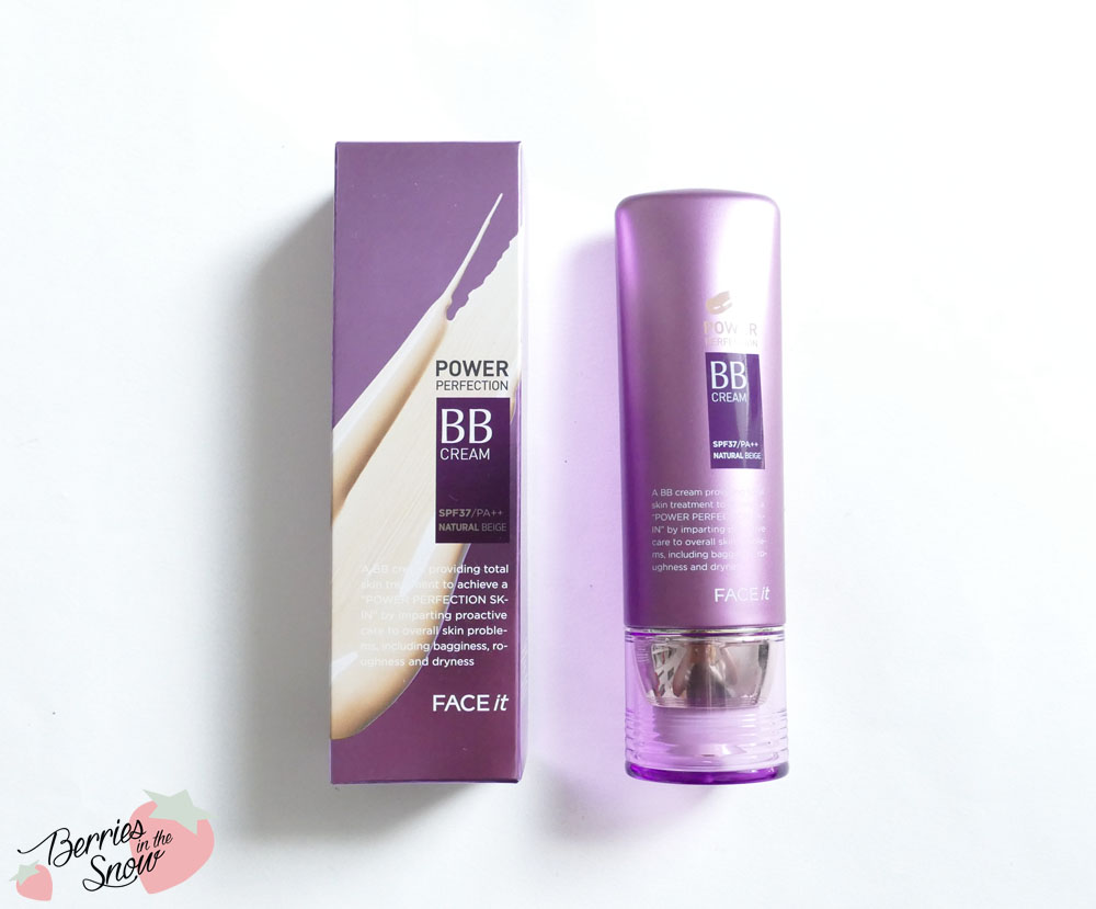 Review the face shop face it power perfection bb cream for Bb shopping it