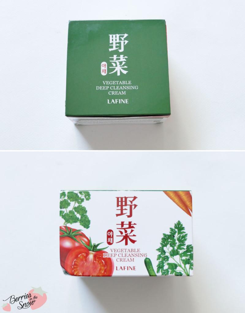 Lafine Vegetable Deep Cleansing Cream