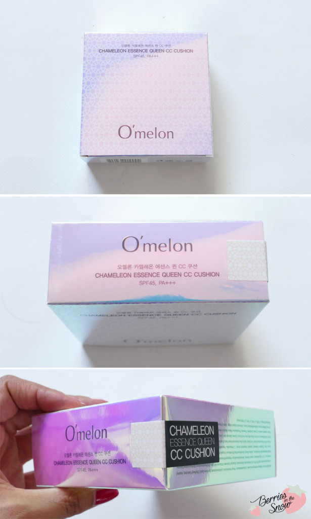 O'melon Chameleon Essence Queen CC Cushion