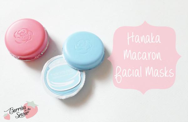 Hanaka Macaron Facial Masks