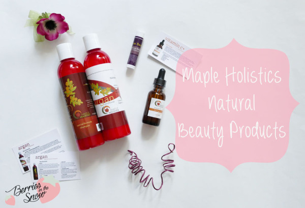 MapleHolistics Natural Beauty Products