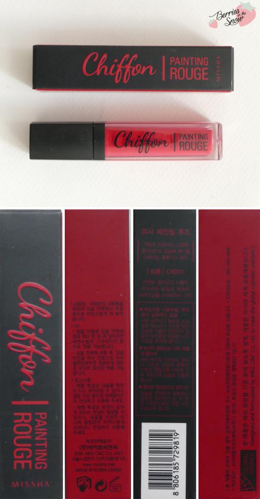 Missha Chiffon Painting Rouge