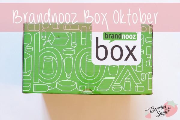 Brandnooz Box Oktober