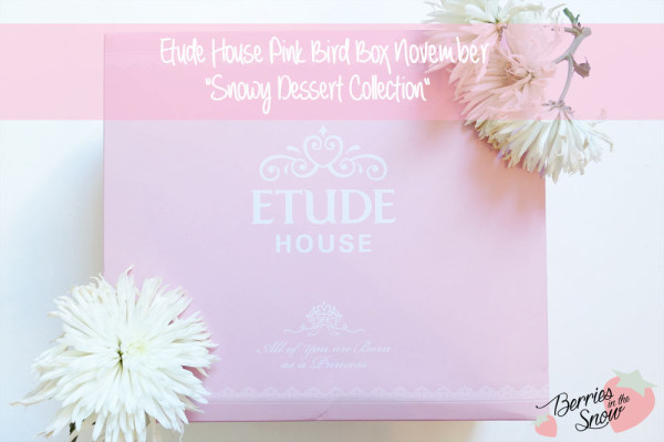 Etude House Pink Bird Box