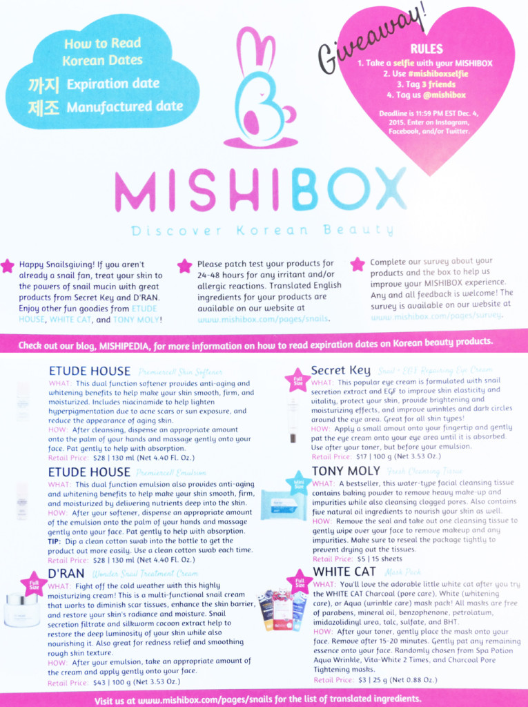 Mishibox November 2015