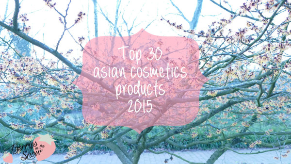 Top 30 Asian Cosmetics Products