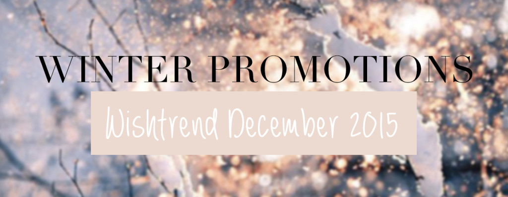 Wishtrend December 2015 Coupons