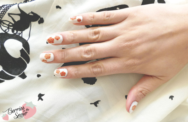 Camellia Flower 3D Nail Art Stickers from Born Pretty Store