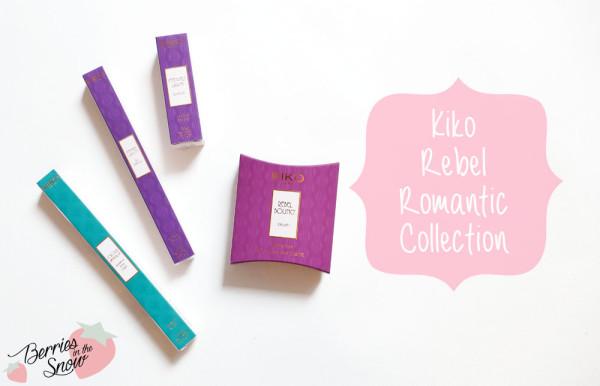 KIKO Rebel Romantic Collection