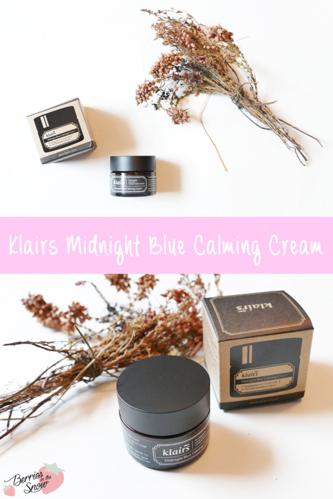 Klairs Midnight Blue Calming Cream