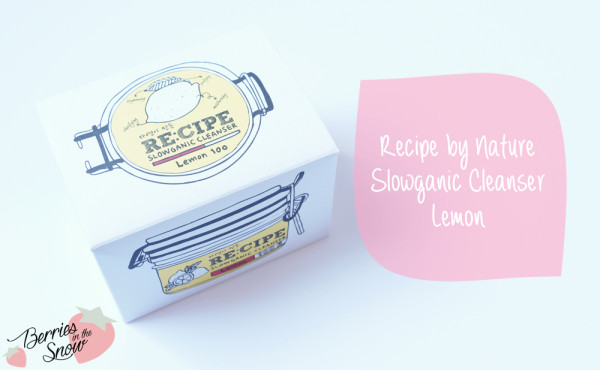 Recipe Slowganic Cleanser Lemon