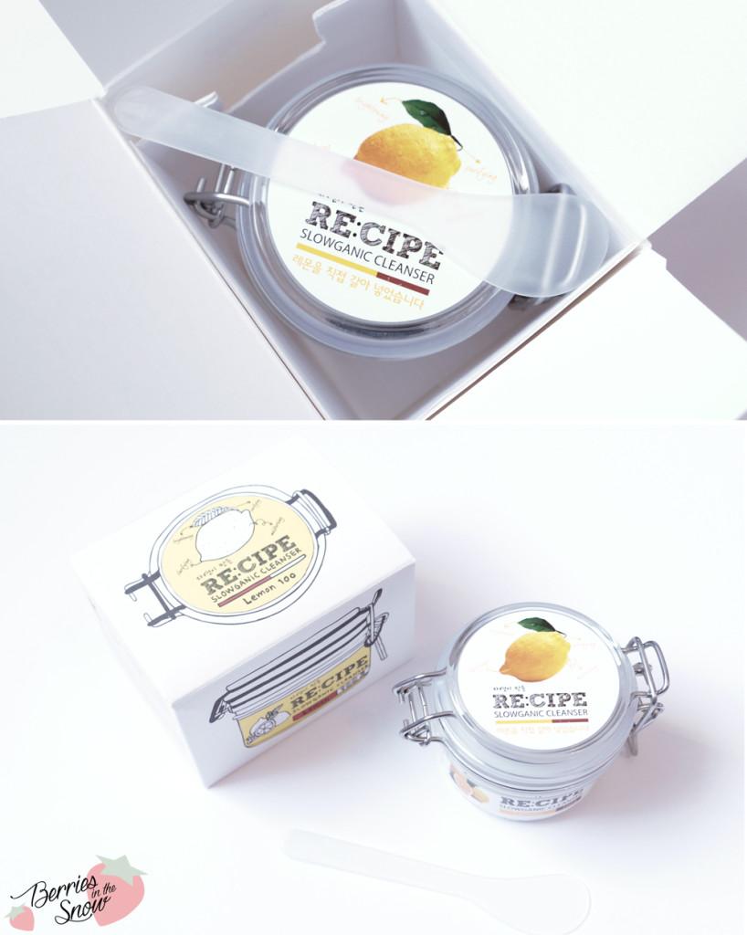 Recipe Slowganic Cleanser Lemon