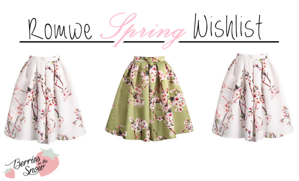 Spring Fashion Wishlist