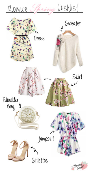 Spring Fashion Wishlist