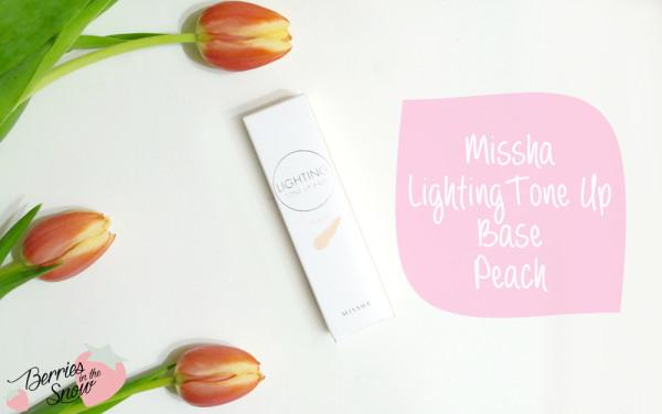 Missha Lighting Tone Up Base