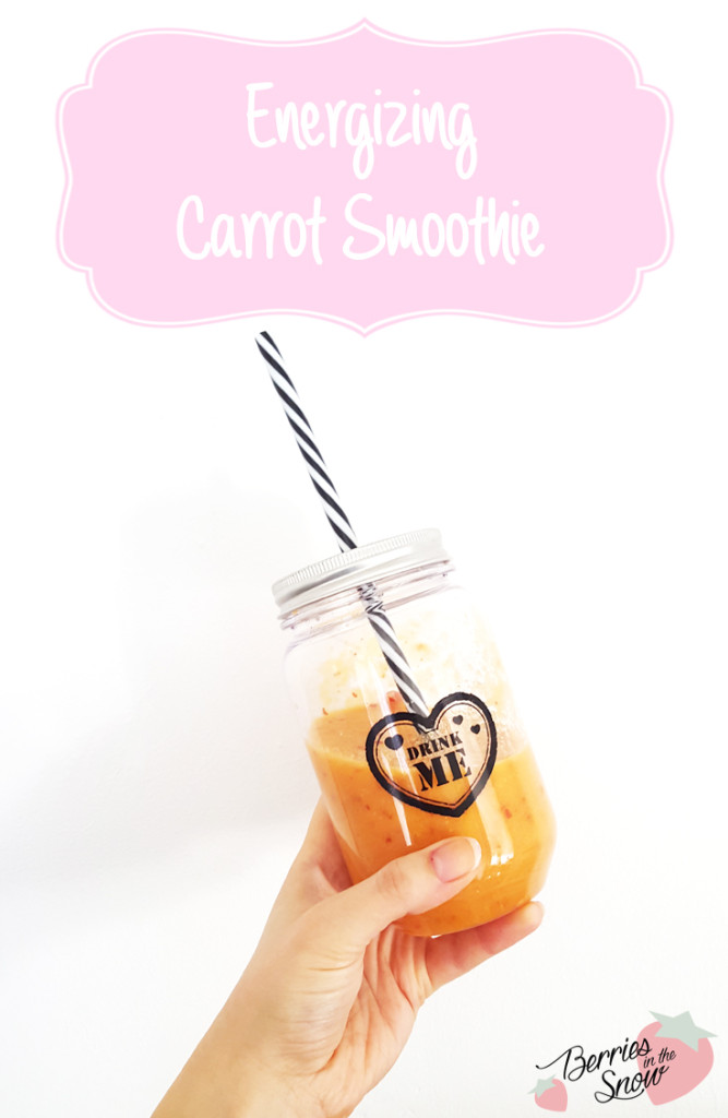 Energizing Carrot Smoothie
